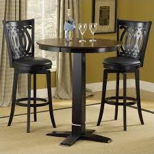 hilale dynamic designs 5 piece pub table and stools set 4975ptbblksvd