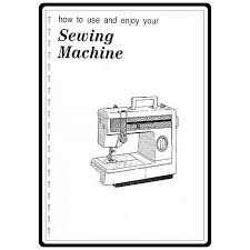 Brother Sewing Machine Vx 808 Manual