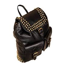 Hyatt 100% <b>Genuine Leather</b> College <b>Backpack</b> for (<b>Women</b>/Girls ...