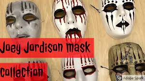 JOEY JORDISON MASK COLLECTION VIDEO ...