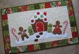 gingerbread christmas table runner