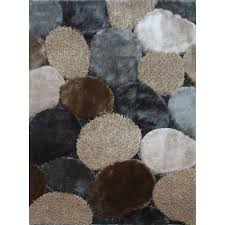 8 x 10 Large Gray & Beige Area Rug - Shaggy Viscose Design | RC Willey  Furniture Store