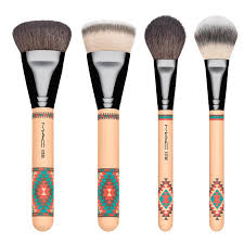 mac aztech 12pcs set makeup cosmetic brushes collection 11street msia accessories