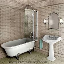 bathroom shower and tub. Burlington Hampton Traditional Shower Bath Bathroom And Tub
