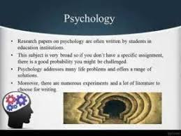 good research paper topics psychology write a short essay on  good research paper topics psychology