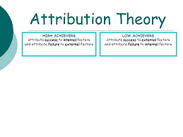 attribution theory essays related post of attribution theory essays