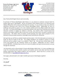 school welcome back letter principal cover letter examples and school welcome back letter principal 9 suggestions for the welcome back to school letter from principals