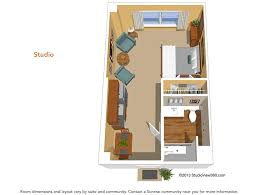 Carrington Court Assisted Living  Memory Care Facility Floor Assisted Living Floor Plan