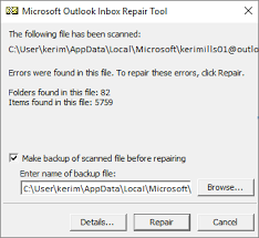 Repair Outlook Data Files Pst And Ost Outlook