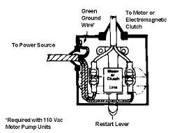 jabsco model 4732 0000 vacuum switch motor and clutch unit wiring diagram