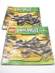 Lego Ninjago Instruction Manual Ninjago 9444 Coles Tread Assualt Set 2  Bücher