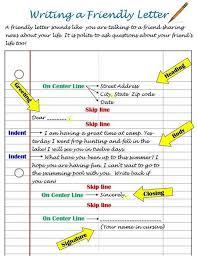 Friendly Letter Format Friendly Letter Format Sample Courtnews Info