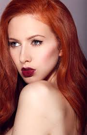 redhead lipstick