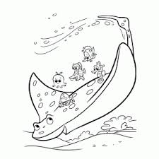 Finding Dory Coloring Pages Leuk Voor Kids