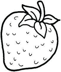 Basic Fruits Coloring Page Z5221 Fresh Fruits Of The Spirit Coloring