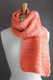 Double Crochet Scarf Patterns