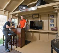 Man Cave Shed for the Everyman Designs Plans Ideas