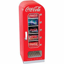 Coca Cola Vending Machine Manual Delectable Coca Cola 48Can Retro Vending Fridge For Home Office Car Or Boat
