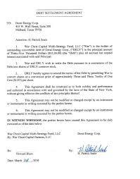 Sample Agreement To Pay Debt Debt Repayment Agreement Template Payment Settlement Form