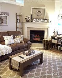 corner fireplace ideaodern living room