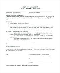 Incident Report Examples Samples Sample Form For Restaurant Employee