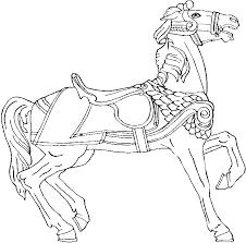 Paarden Kleurplaten