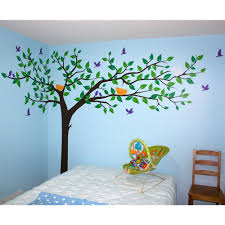 colorful super big tree removable wall decal