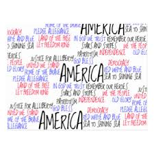 mean postcards zazzle what america means to me postcard