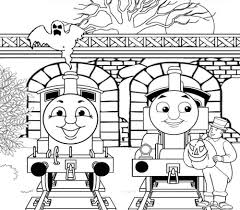 Thomas Train Coloring Pages Thomas The Tank Engine Coloring Pages