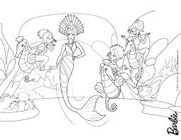 Little Mermaid Coloring Page Detailed Mermaid Coloring Pages