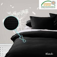 WAFFLE Quilt Cover Set - Black White Linen Chocolate- SINGLE ... & WAFFLE-Quilt-Cover-Set-Black-White-Linen-Chocolate- Adamdwight.com