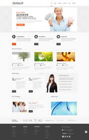 Best Financial Services Website Design Financial Advisor Responsive Wordpress Theme