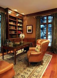 40 Elegant Masculine Home Office Design Ideas Pinterest Office Fascinating Classic Home Office Design