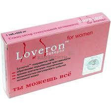 <b>Loveron</b> (<b>Лаверон</b>) for <b>women</b> таблетки 500 мг 3 шт. купить по ...