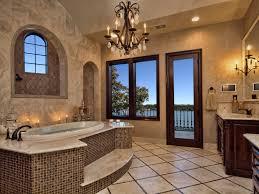house beautiful master bathrooms. Luxurious Bathroom Designs Brown Marble Floor Built In Storage Shelves White Bath Sink Big Wall Mirror Wooden Vanity Double Damask Pattern House Beautiful Master Bathrooms O