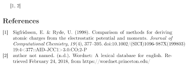 Bibliographies Problem Biblatex Numeric Apa Style Tex Latex