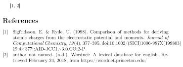 Bibliographies Problem Biblatex Numeric Apa Style Tex Latex