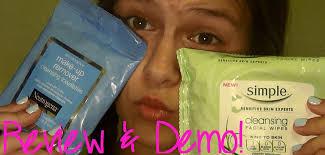 neutrogena makeup remover wipes review demo
