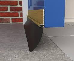 image of garage door seals flap