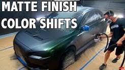 Chart Matte Paint Car Color