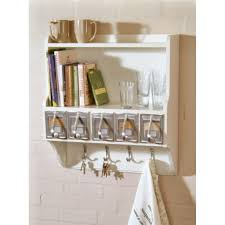 Small Picture Wall Mounted Kitchen Shelf Unit