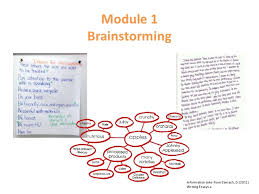 e m brainstorming techniques module 1 brainstorming information take from zemach d 2011 writing essays x