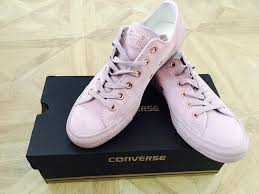 converse egret rose gold. review photo 1. originally posted on converse allstar low lthr burnished lilac rose gold exclusive egret rose gold