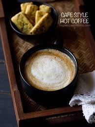 The hot drink to drink during cold time! Hot Coffee