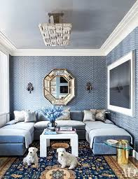 in the family room of a chicago duplex designed by michael s smith an italian