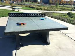 concrete ping pong table. Ping Pong Table Cover Marvelous Concrete Pic Of Outdoor For Ideas And
