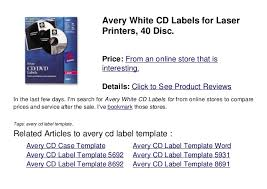 Avery Dvd Label Template Word Avery Cd Label Template