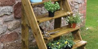 attractive outdoor wooden plant stands 15 diy plant stands you can make yourself home and gardening