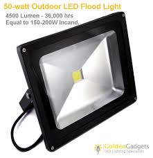 V Low Voltage Watt Outdoor LED Flood Light  Lumen - Exterior led light