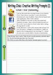 Creative Writing Prompts  Story Starters for Kids